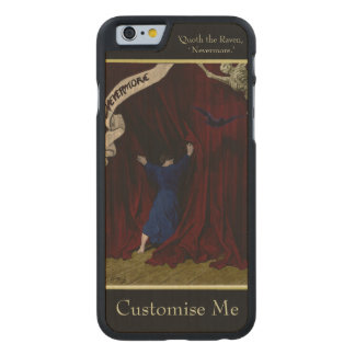 Nevermore... Carved Maple iPhone 6 Case