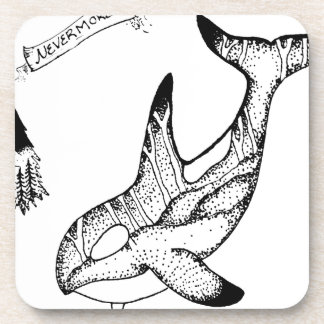 Nevermore Drink Coaster