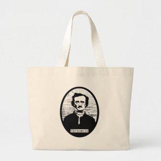 Nevermore Edgar Allan Poe Large Tote Bag