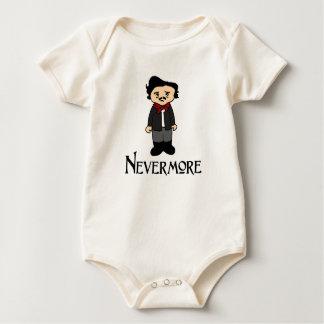 Nevermore Edgar Allan Poe The Raven baby shirt