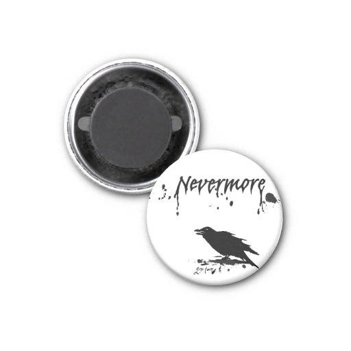 Nevermore Fridge Magnet