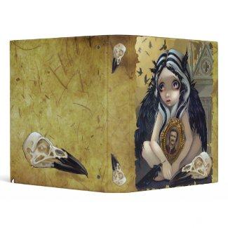 Nevermore gothic fairy Edgar Allan Poe Binder binder