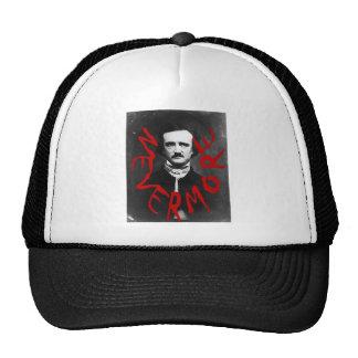Nevermore in Blood~~~Edgar Allen Poe~~Altered Art Trucker Hat