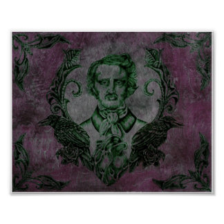 Nevermore in Purple Poster