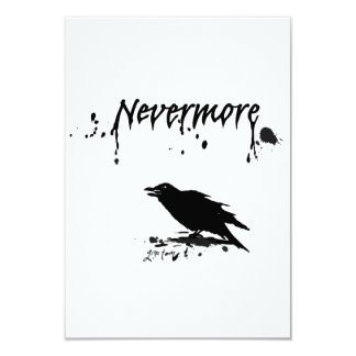 Nevermore Custom Invitations