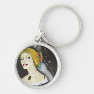 Nevermore Key Chain
