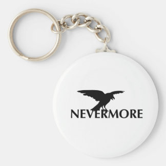Nevermore Keychain