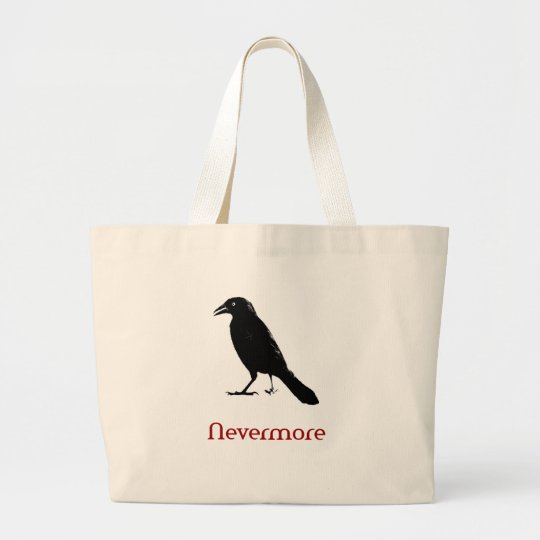 Nevermore Large Tote Bag