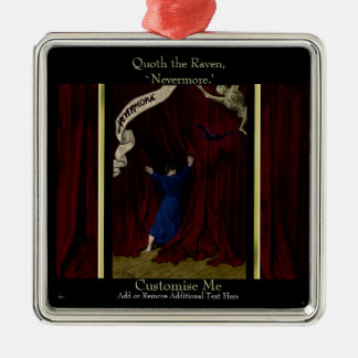 Nevermore... Metal Ornament