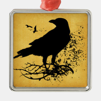 Nevermore Metal Ornament