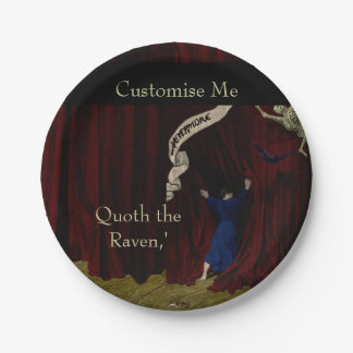 Nevermore... Paper Plate