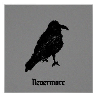 """Nevermore"" póster"