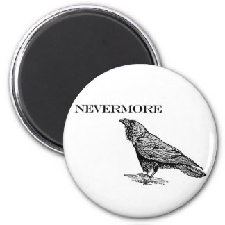 Nevermore Raven 2 Inch Round Magnet