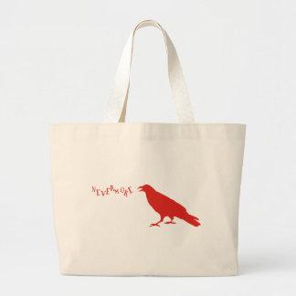 Nevermore Raven Canvas Bag