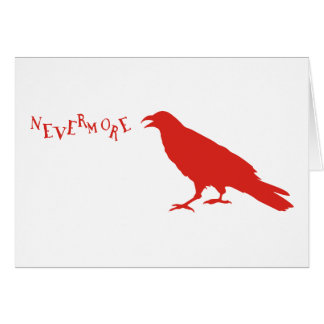 Nevermore Raven Card