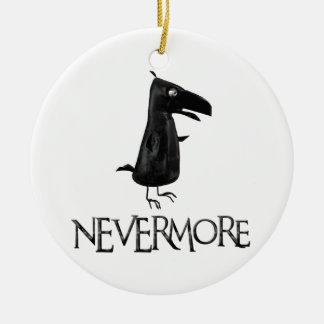 NEVERMORE Raven Ceramic Ornament
