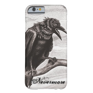 Nevermore Raven in the Mist iPhone 6 case