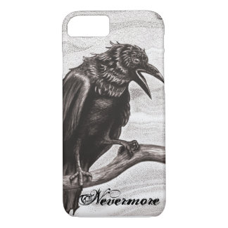 Nevermore Raven in the Mist iPhone 7 case