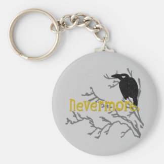 Nevermore Raven Key Chain