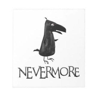 NEVERMORE Raven Notepad