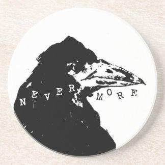 Nevermore Raven of Edgar Allan Poe Coaster
