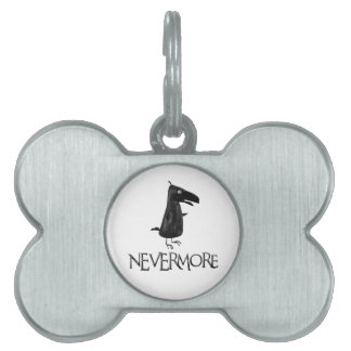 NEVERMORE Raven Pet Tags