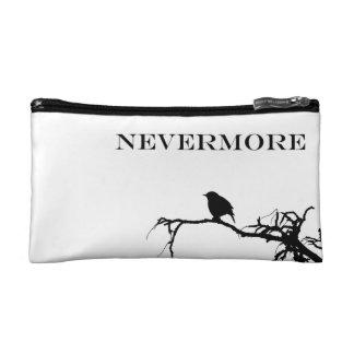 Nevermore Raven Poem Edgar Allan Poe Design Cosmetic Bag