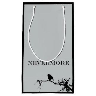 Nevermore Raven Poem Edgar Allan Poe Design Small Gift Bag