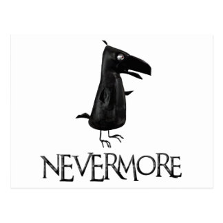 NEVERMORE Raven Postcard
