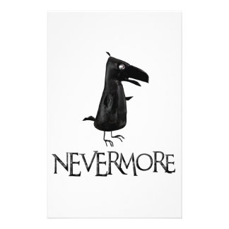 NEVERMORE Raven Stationery