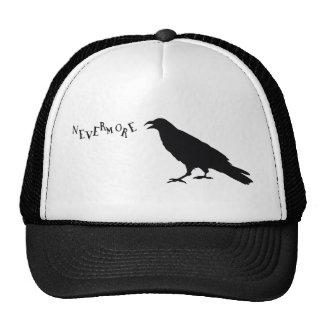 Nevermore Raven Trucker Hat