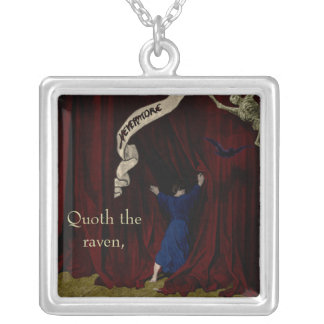 Nevermore... Silver Plated Necklace