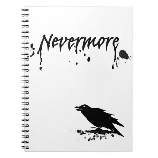 Nevermore Spiral Note Book