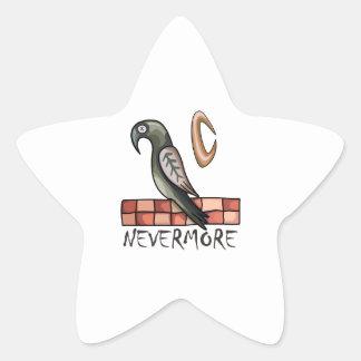 Nevermore Star Sticker