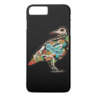 Nevermore Sugar Skull Raven iPhone 7 Plus Case