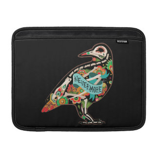 Nevermore Sugar Skull Raven MacBook Air Sleeve