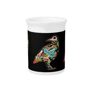 Nevermore Sugar Skull Raven Pitchers