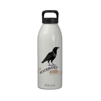 NEVERMORE WATER BOTTLES