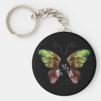 Nevermore x3 Butterfly Raven Key Chain