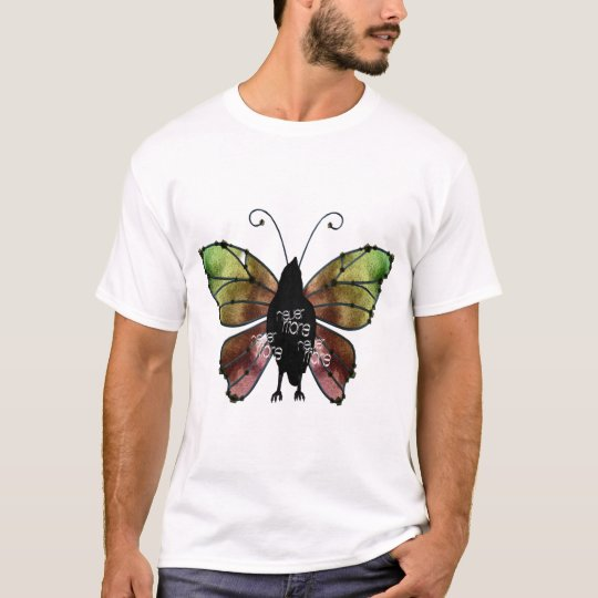 Nevermore x3 Butterfly Raven T-Shirt