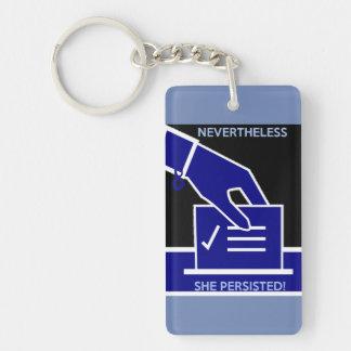 Nevertheless keychain