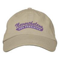 Nevertheless, she persisted. Baseball Cap