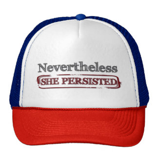 Nevertheless She persisted Resist Trucker Hat