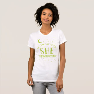 Nevertheless, She Persisted Tee - Elizabeth