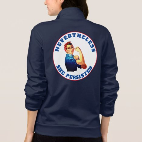 """Nevertheless, She Persisted"" with Rosie Jacket"