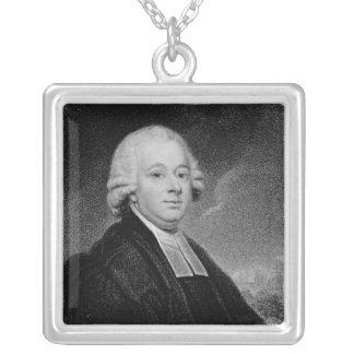 Nevil Maskelyne Silver Plated Necklace