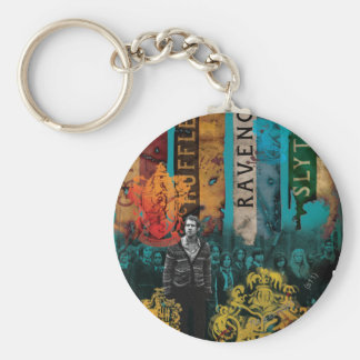 Neville Longbottom Collage 1 Keychain