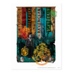 Neville Longbottom Collage 1 Postcard