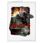 Neville Longbottom Collage 2 Greeting Card