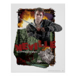 Neville Longbottom Collage 2 Poster